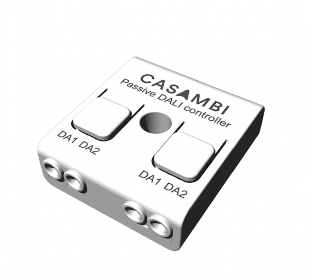 Casambi Bluetooth controllable enabled DALI controller