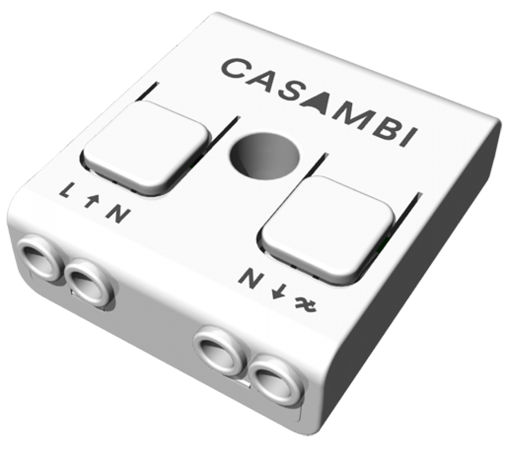 Casambi enabled trailing-edge dimmer
