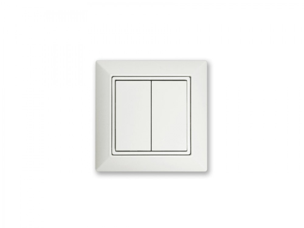 EASYFIT Bluetooth wall switch double