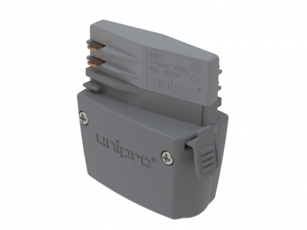UNIPRO A100G, Power take-off adapter, grey