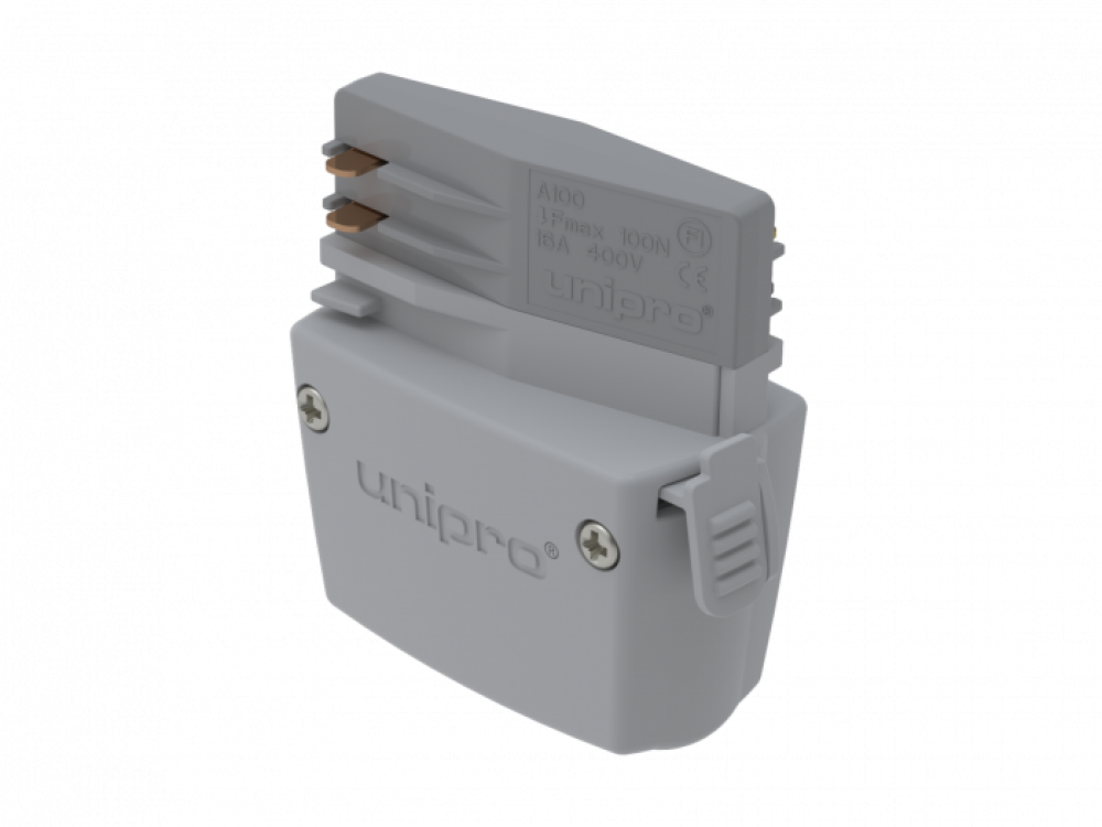 UNIPRO A100W, Power take-off adapter, white