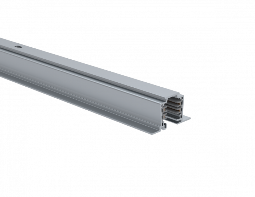 UNIPRO T32FAD, 3-phase lighting track, anodised, 2 meters (recessed)