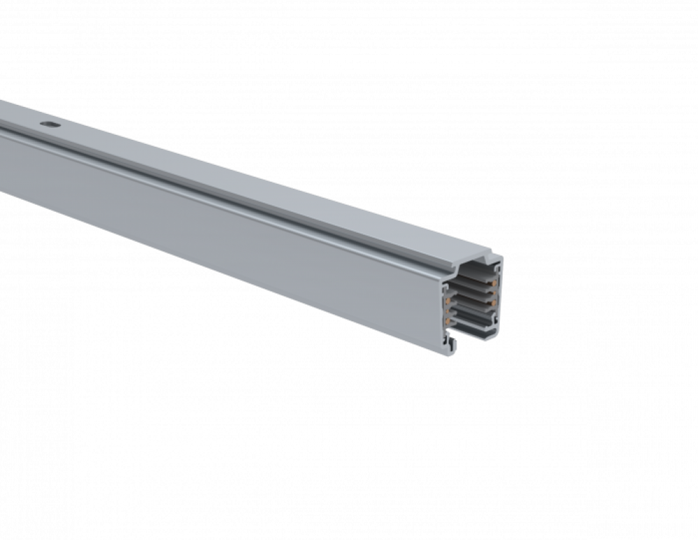 UNIPRO TC32AD, Control-DALI 3-phase lighting track, anodised, 2 meters (surface)